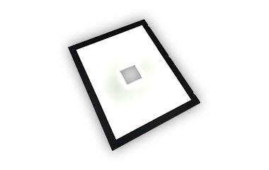 开孔型背光源
